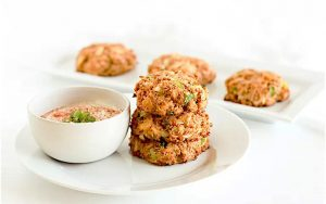 High Protein Crab Cake