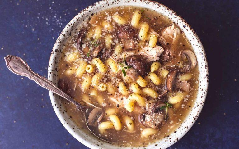 Instant Pot Chicken Marsala Recipe