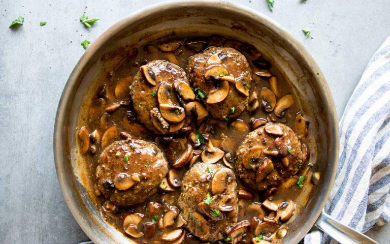 Low Carb Salisbury Steak Recipe