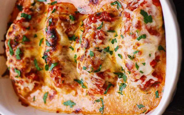 Low Carb Chicken Mozzarella 1