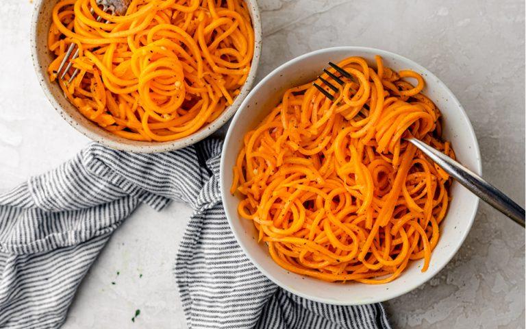 Low Carb Squash Noodles Recipe