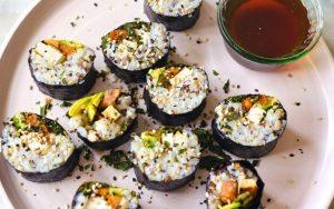 Natural Vegetarian Sushi Roll 1