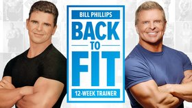 Bill Phillips Back to Fit 12 week trainer