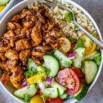 Healthy Chicken Shawarma Bowl