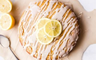Lemon Yogurt Pound Cake Recipe