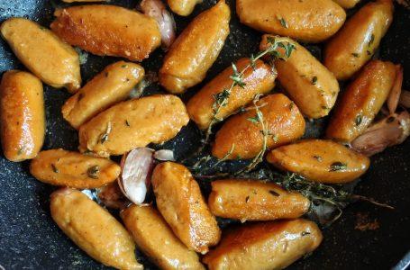 Vegan Pumpkin Gnocchi