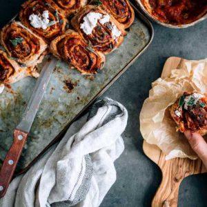 Vegetarian Pizza Rolls