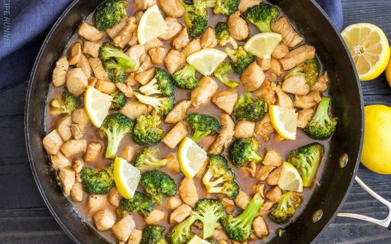 Whole30 Lemon Chicken Broccoli Recipe
