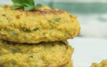 Cauliflower Chickpea Patties Recipe