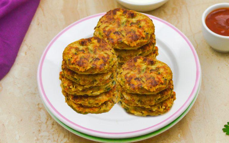 Vegetable Chickpea Patties Recipe