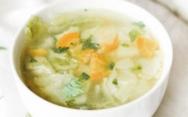 Fat Burning Cabbage Soup Recipe
