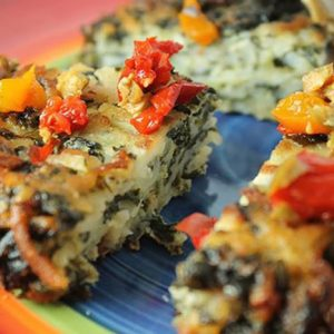 Mediterranean Vegetable Cake