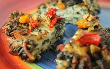Mediterranean Vegetable Cake Recipe