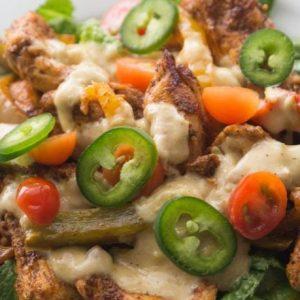 Baked Keto Chicken Fajitas