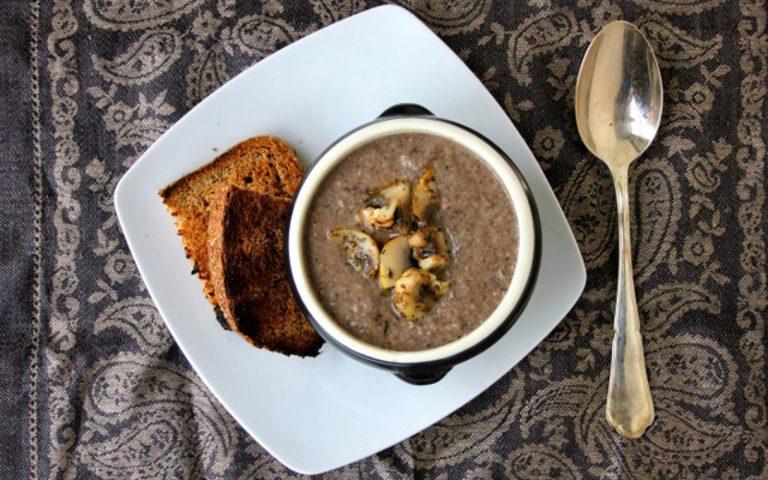 Black Bean Mushroom Soup Recipe
