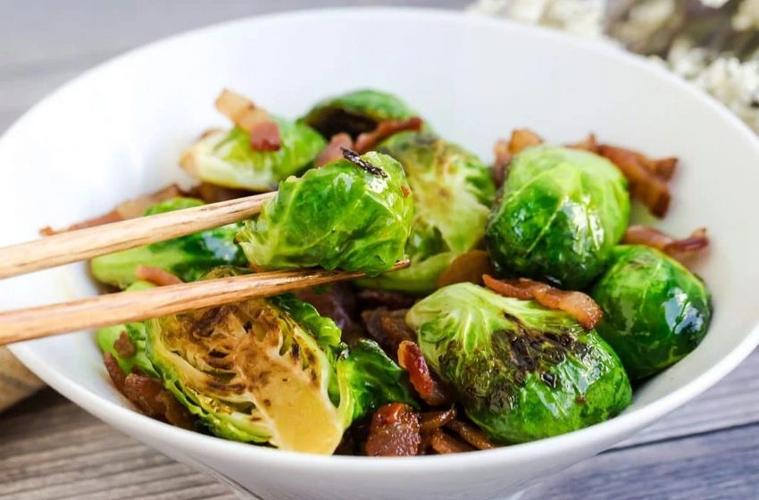 Keto Bacon Brussel Sprout