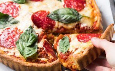 Deep Dish Pizza Keto Recipe