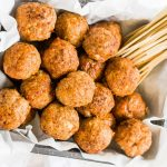 Easy Turkey Meatballs Keto