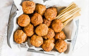 Easy Turkey Meatballs Keto Recipe
