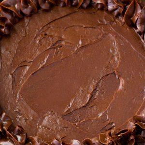 Healthy Keto Chocolate Cake
