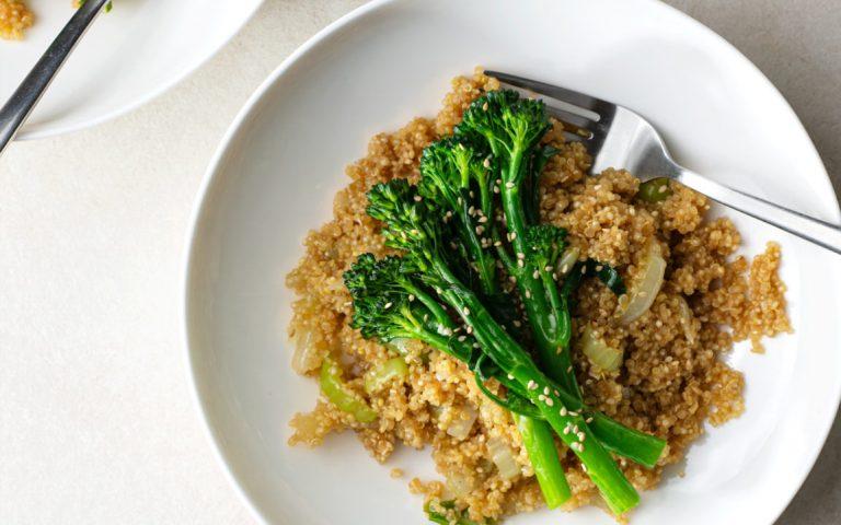 High Protein Quinoa Stir Fry Recipe