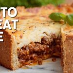 Low Carb Keto Meat Pie