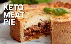 Low Carb Keto Meat Pie