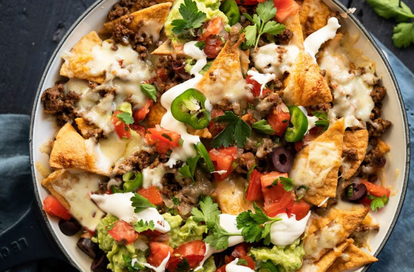 Low Carb Nachos Recipe