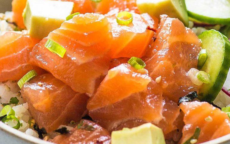 Omega 3 Poke Bowls Recipe