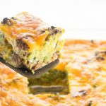 Overnight Breakfast Casserole Keto