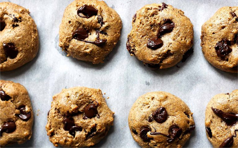 Protein Chocolate Chip Cookies with Almond Butter Recipe