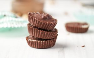 Salted Toffee Nut Cups