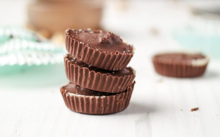 Salted Toffee Nut Cups Recipe