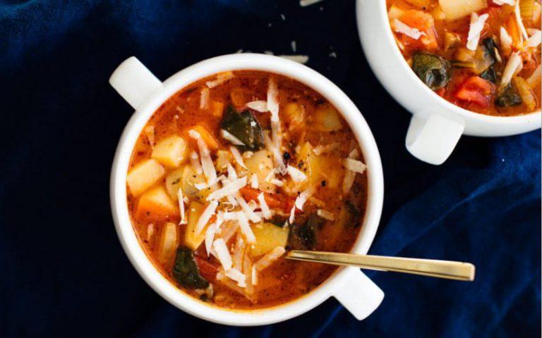 Vegan Classic Minestrone Soup Recipe