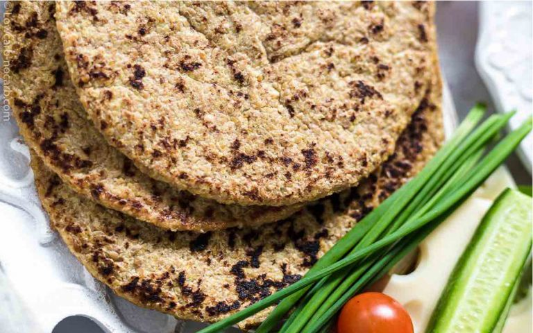 Keto Flaxseed Wraps Recipe