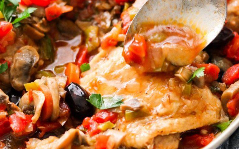 Paleo Chicken Cacciatore Recipe
