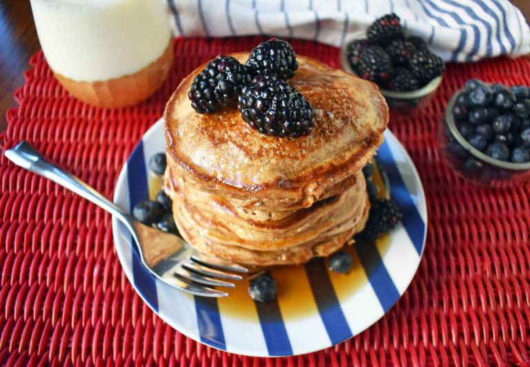 Banana Oatmeal Pancakes Low Carb